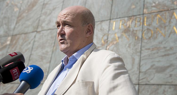 Le MPC classe la procédure sur le diplomate Jacques Pitteloud