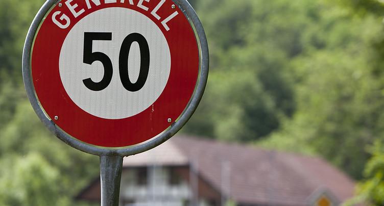 Automobiliste à 119 km/h dans une rue d'Arbon (TG) limitée à 50