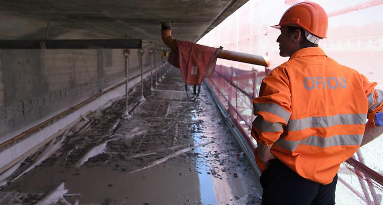 Reprise des travaux d'assainissement sur le tronçon Belmont de l'A9
