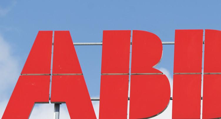 Le bénéfice d'ABB recule au premier trimestre