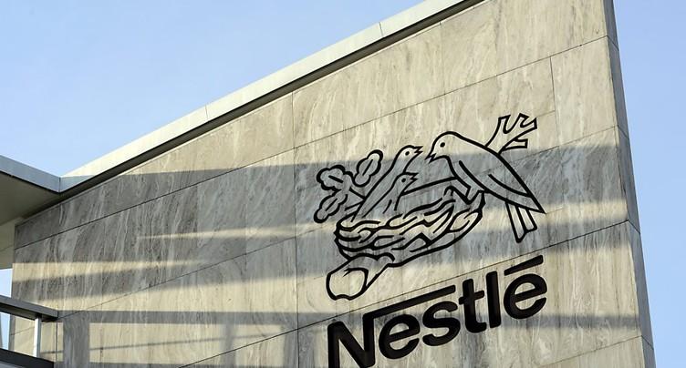 Nestlé a accru ses ventes de 1,4% au premier trimestre