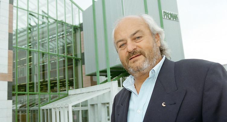 L'entrepreneur Andy Rihs est décédé à l'âge de 75 ans