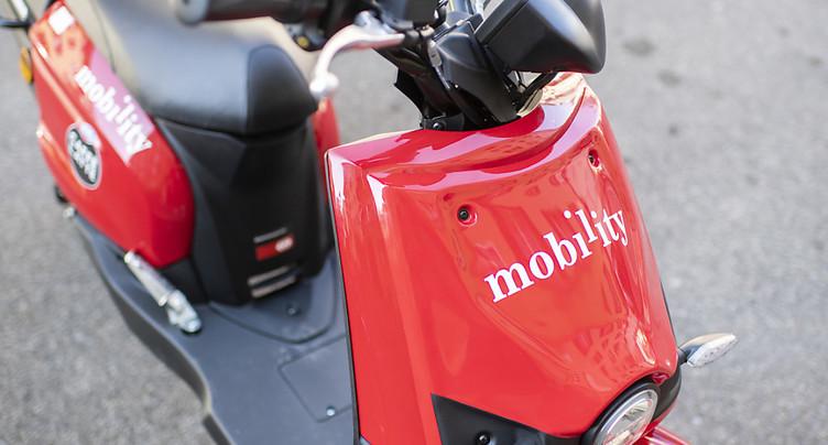 Mobility se lance dans la location de scooters électriques à Zurich