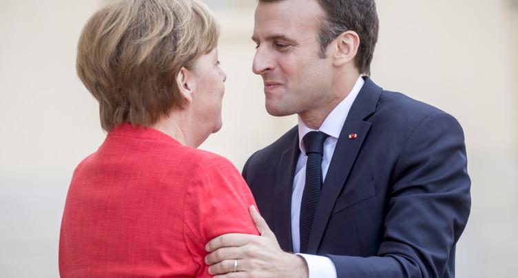 UE: Merkel et Macron optimistes sur des avancées d'ici fin juin