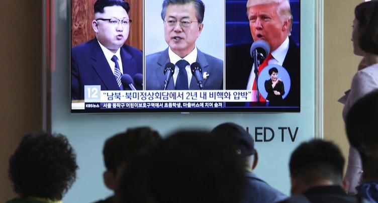 Ouverture d'un téléphone rouge entre dirigeants des deux Corées