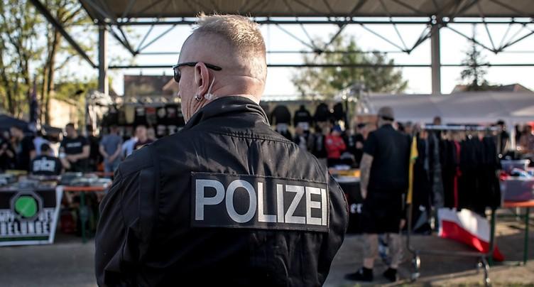 Des néonazis se réunissent pour un festival controversé