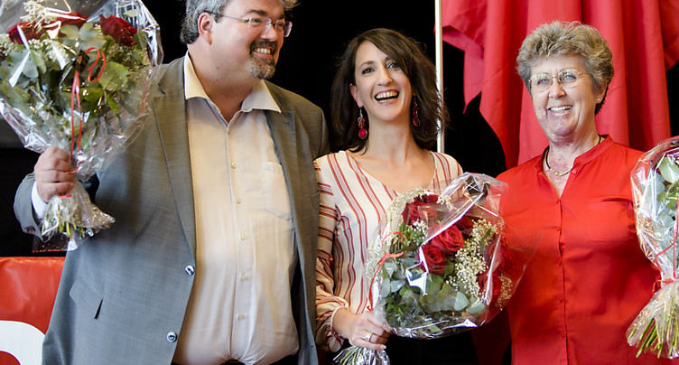 Jessica Jaccoud à la présidence du PS vaudois