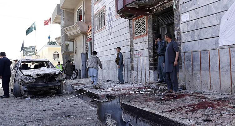 Attentat à Kaboul contre un centre d'enregistrement électoral