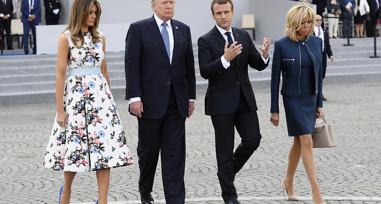 Emmanuel Macron se voit comme un « dissident du système » avec Trump