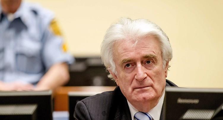Ouverture ce lundi du procès en appel de Radovan Karadzic