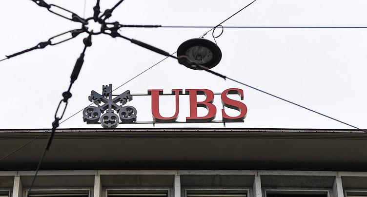 Bénéfice en hausse pour UBS au 1er trimestre