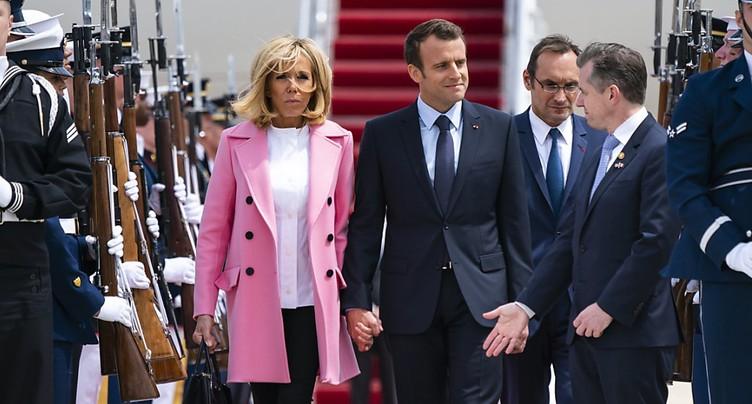 Macron et Trump planteront ensemble un chêne avant des discussions