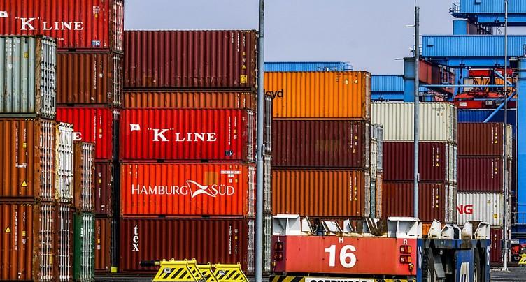 Valeur record pour le commerce extérieur suisse au 1er trimestre