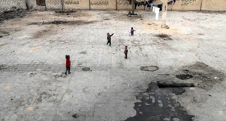Conférence sur la Syrie: appel à l'engagement international