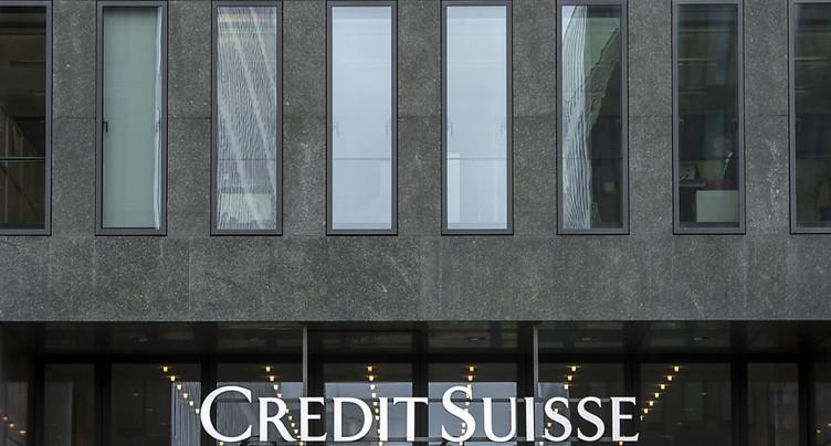 Credit Suisse réalise un bénéfice de 694 millions au 1er trimestre
