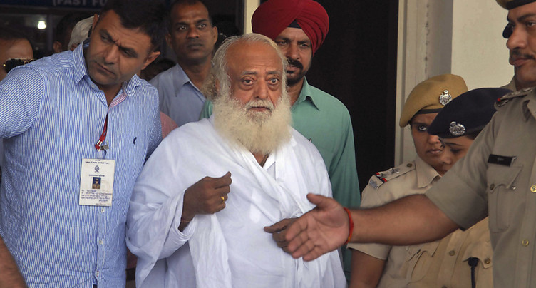 Inde: le gourou Asaram condamné à la prison à perpétuité pour viol