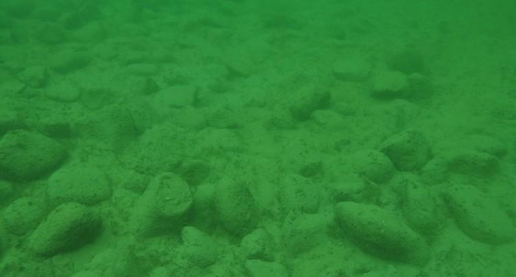 Mystérieux amas de pierres dans le lac de Constance