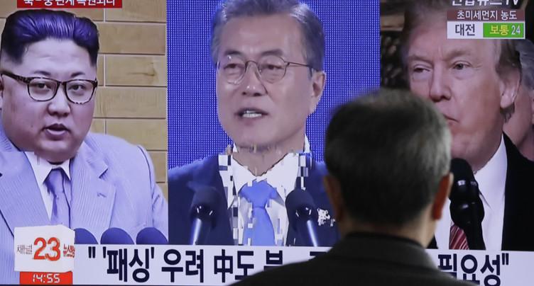 Moon et Kim se retrouveront sur la ligne de démarcation militaire