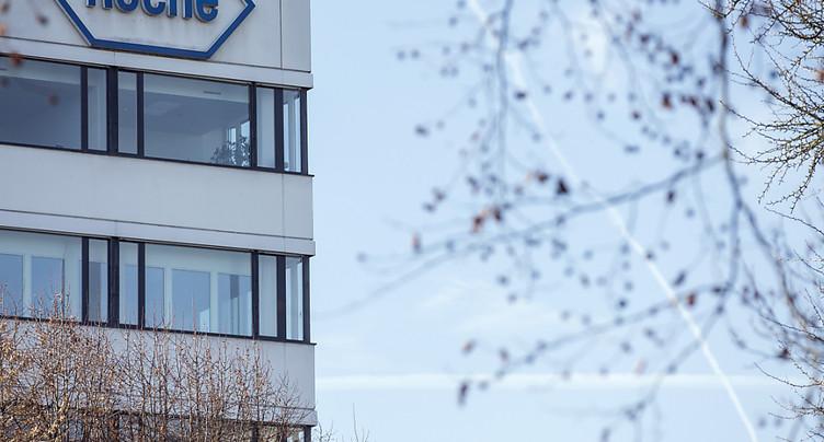 Roche a accru son chiffre d'affaires de 5% au premier trimestre
