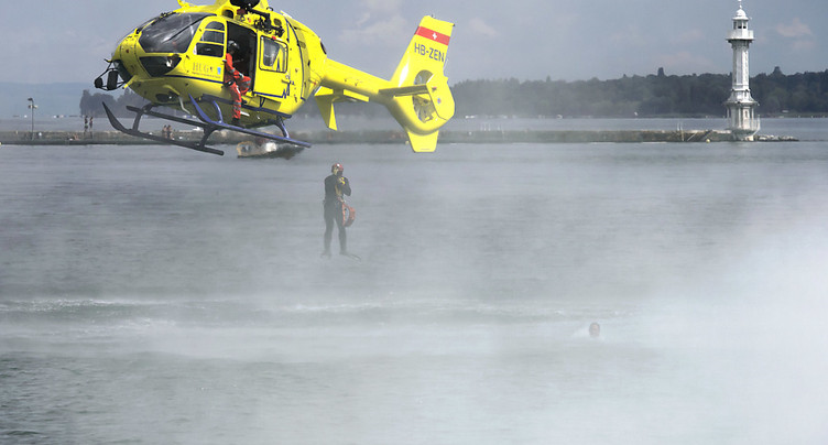 Un homme a perdu la vie lors d'une plongée à Hermance (GE)