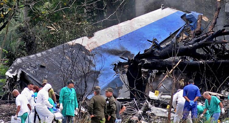 Crash d'un avion de ligne à Cuba: une boîte noire retrouvée « en bon état »