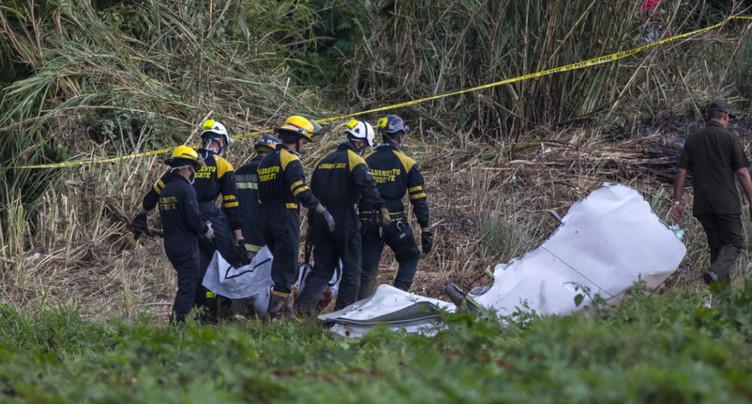 Crash aérien à La Havane: nouveau bilan de 110 morts