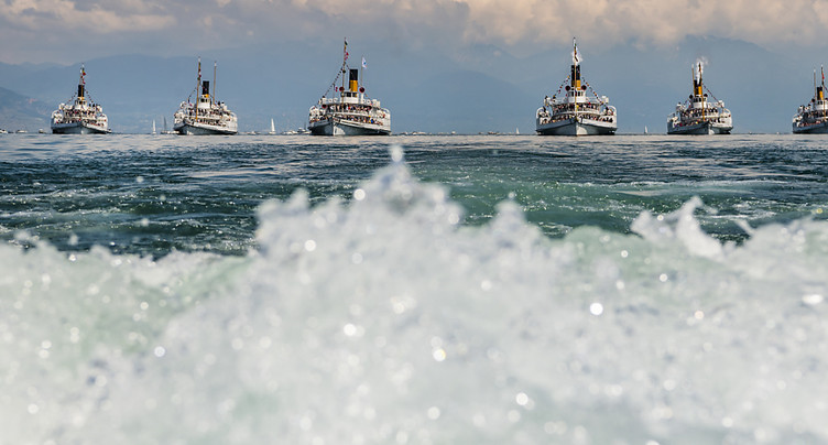 Succès pour la première parade navale de la CGN en France