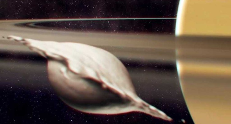 La forme de ravioli des lunes de Saturne expliquée