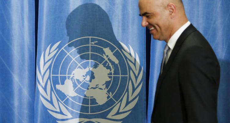 Berset appelle au « courage » des Etats pour les 70 ans de l'OMS