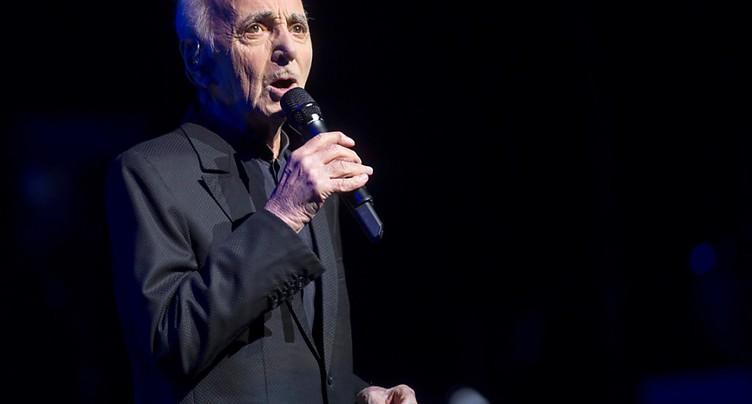 Après une fracture, Charles Aznavour retarde son retour sur scène