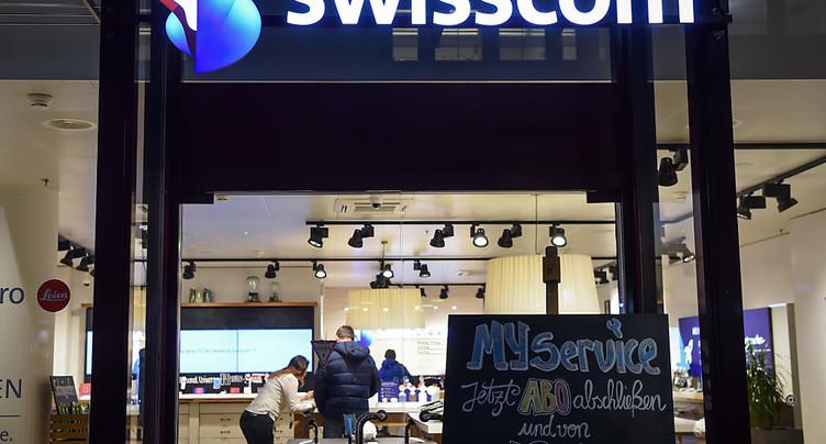 Swisscom tancé pour le prix de ses appels du fixe au mobile
