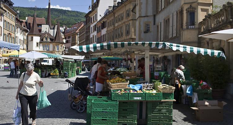 Places de marché jusqu'à 25 fois plus chères suivant la commune