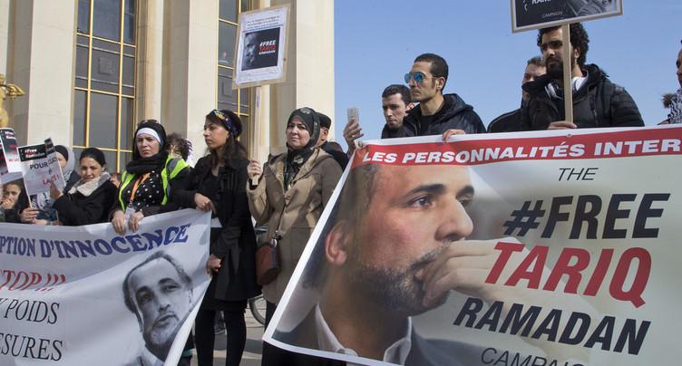 Affaire Ramadan: la demande de remise en liberté d'islamologue suisse rejetée
