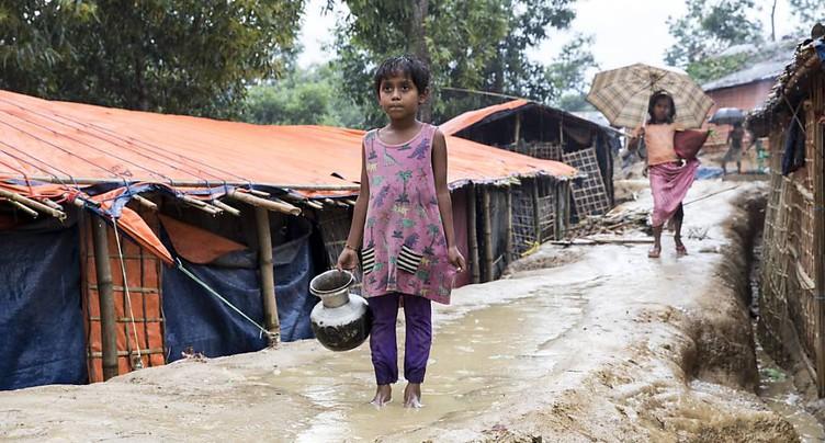 Journée de collecte pour les réfugiés rohingyas