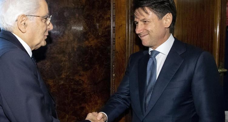 Feu vert de Mattarella à la désignation de Giuseppe Conte