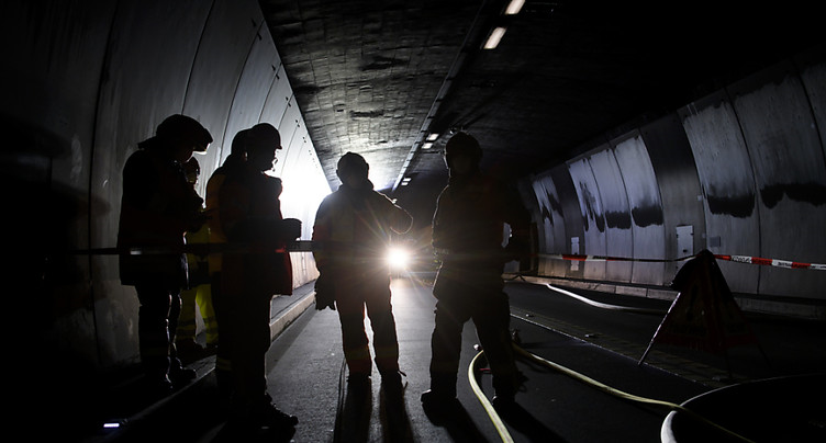 Le tunnel du San Bernardino rouvre jeudi matin