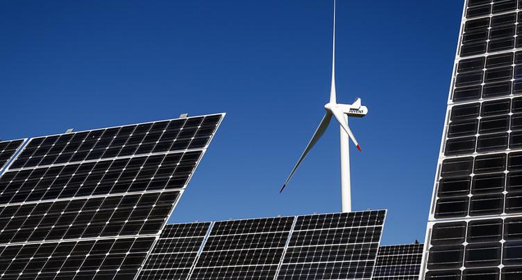 La Suisse mauvais élève pour l'énergie solaire et éolienne