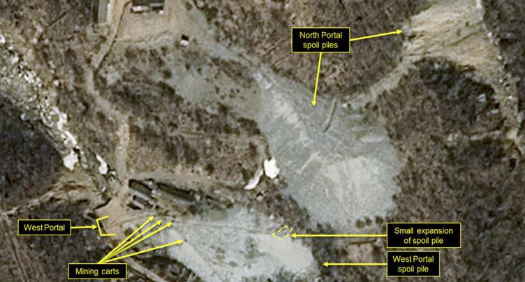La Corée du Nord a démantelé son site d'essais nucléaires (médias)