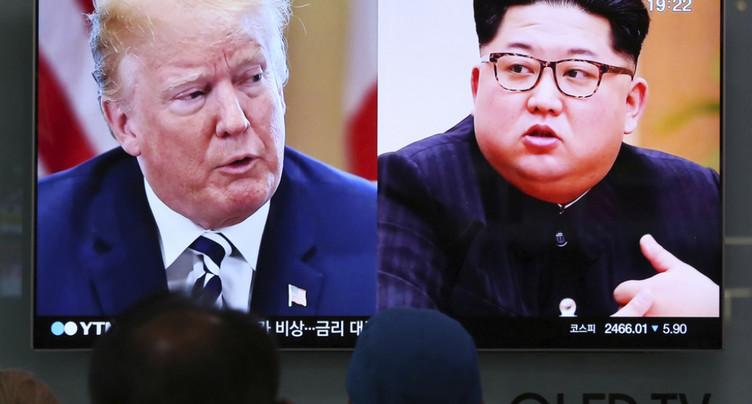 Trump annonce dans une lettre à Kim que leur sommet n'aura pas lieu