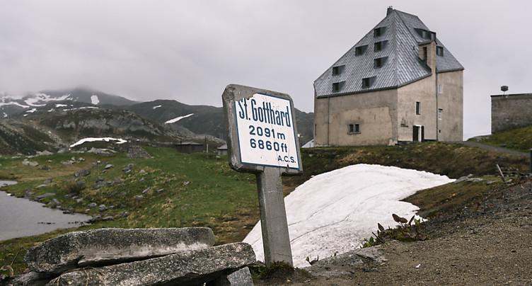 Réouverture du col du Gothard vendredi