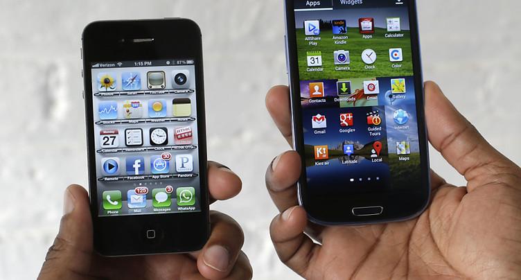 Samsung condamné à payer 533 millions de dollars à Apple
