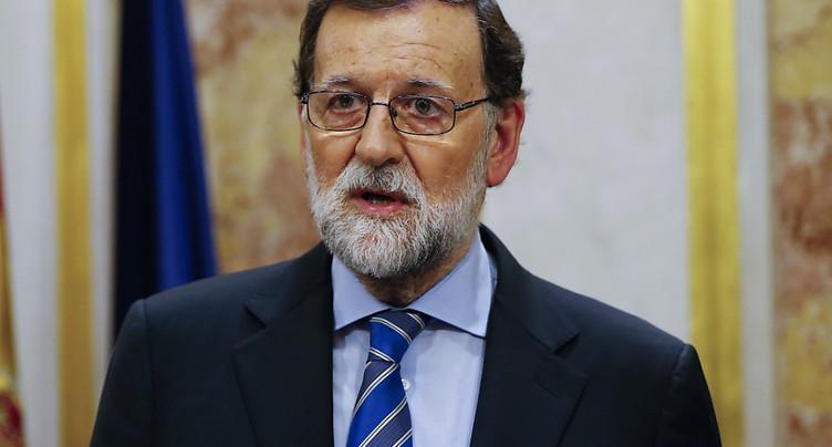 Le PS dépose une motion de censure contre Mariano Rajoy
