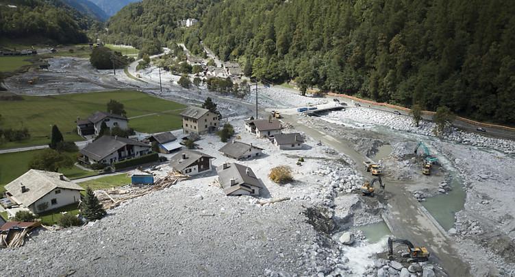 Près d'un an après le drame, le vallon de Bondo (GR) reste fermé