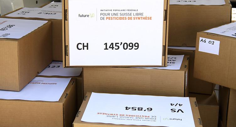 L'initiative pour une Suisse sans pesticides a été déposée