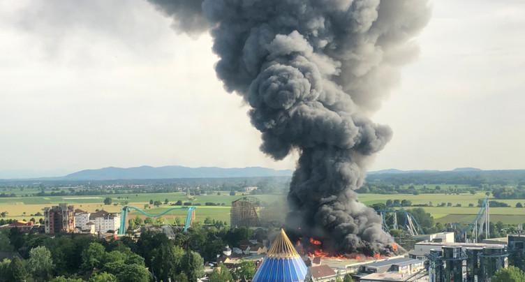 Incendie dans le parc d'attractions allemand Europa Park