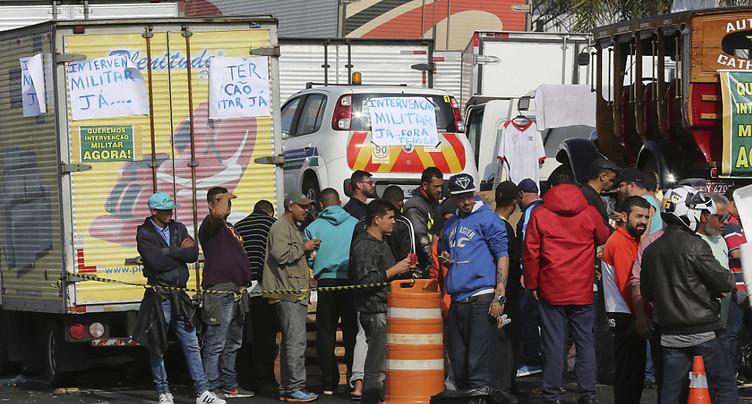 Le Brésil toujours secoué par la grève des routiers