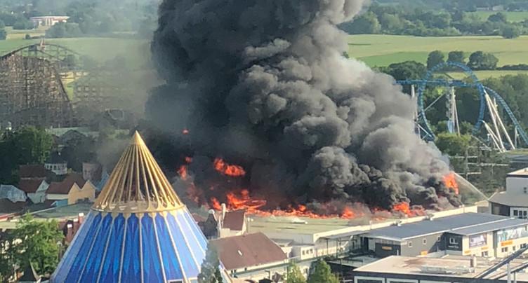 L'Europa-Park rouvre déjà dimanche après un important incendie