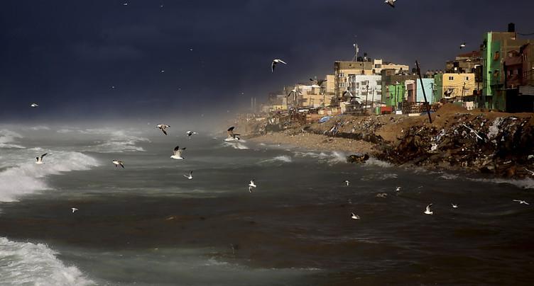 Israël construit une barrière maritime au nord de Gaza