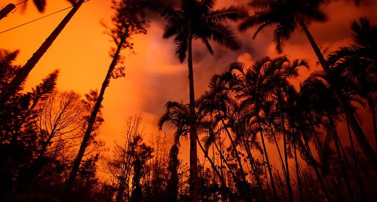 Un « brouillard volcanique » venu d'Hawaï atteint les îles Marshall