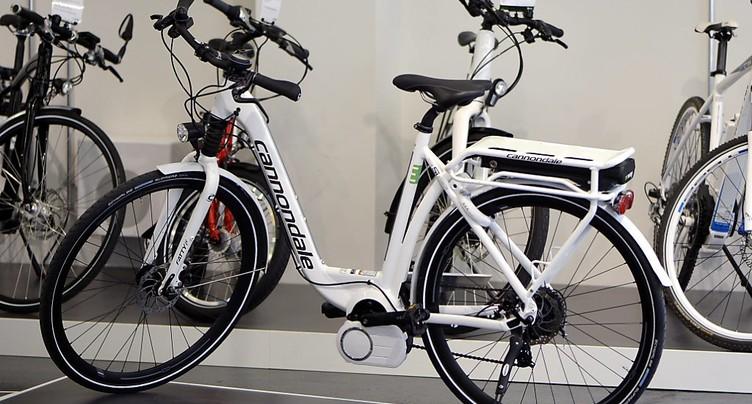 Pour 100'000 francs de vélos volés dans un magasin en Argovie